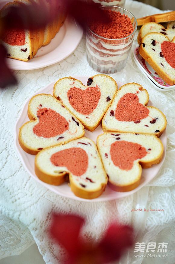 爱心蛋糕吐司的家常做法