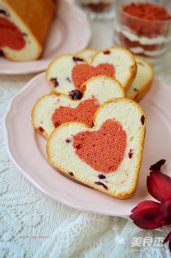 爱心蛋糕吐司的简单做法