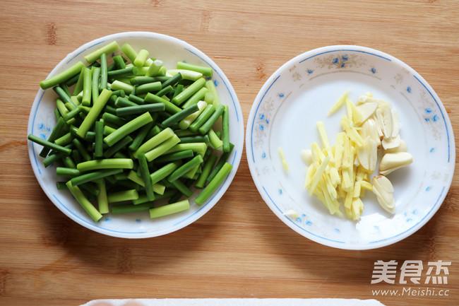 青蒜苗炒回锅肉的做法图解