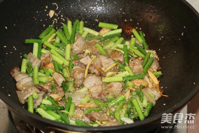 青蒜苗炒回锅肉怎么煮