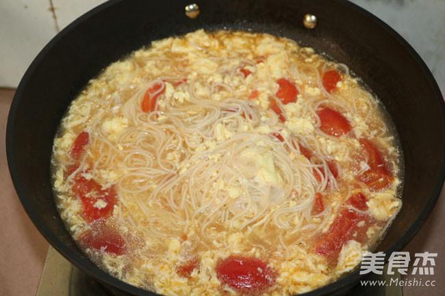 番茄鸡蛋面怎么煮