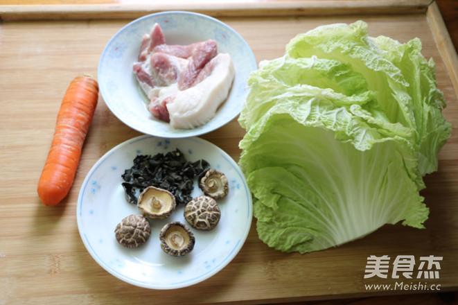 猪肉白菜卷的做法大全