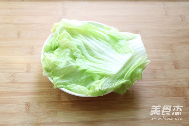 猪肉白菜卷的做法图解