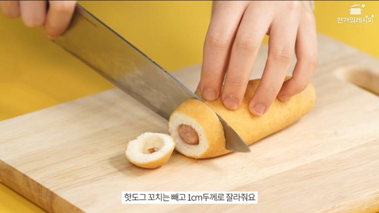 韩式热狗披萨的做法大全