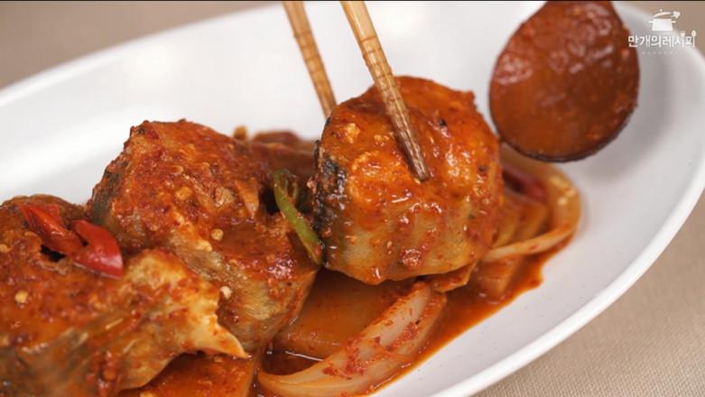 韩式萝卜炖明太鱼怎么做