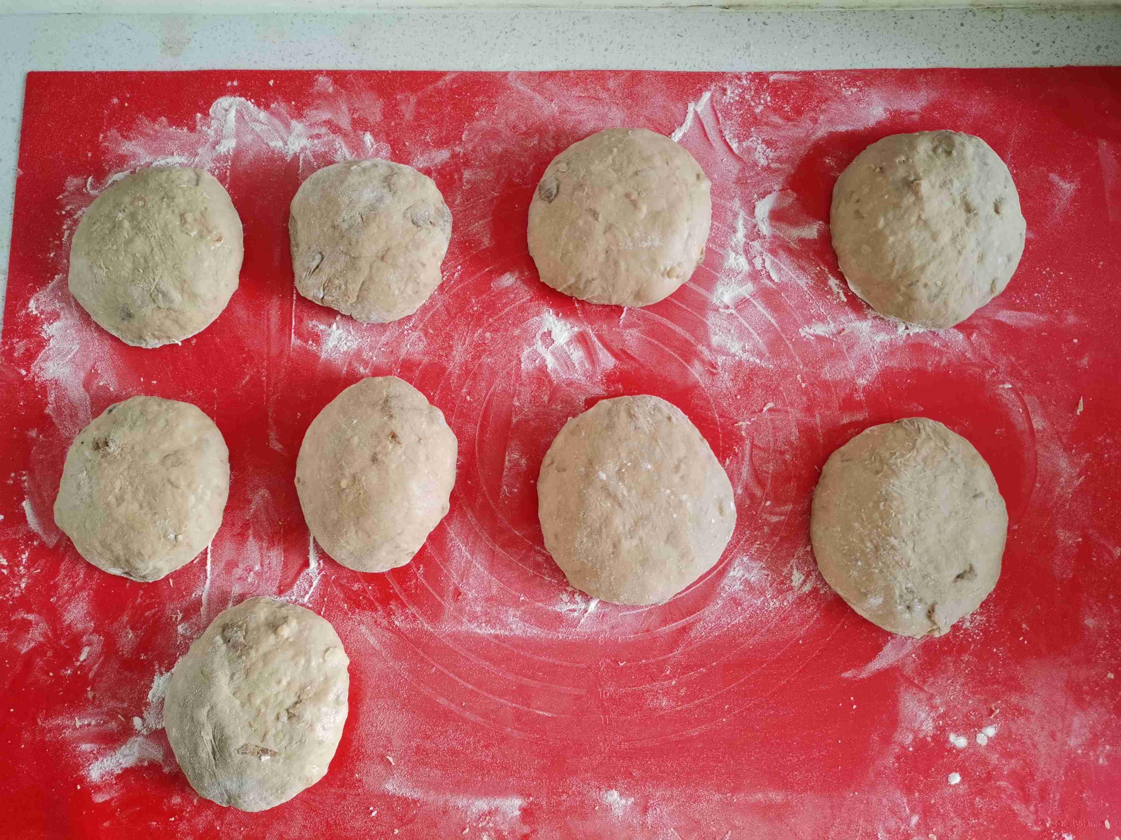 女性最佳补品级面包~黑糖果仁吐司怎样做