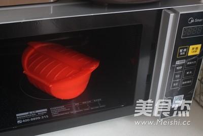 微波浓香卤肉饭的步骤