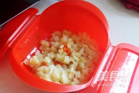 微波快手土豆沙拉的步骤