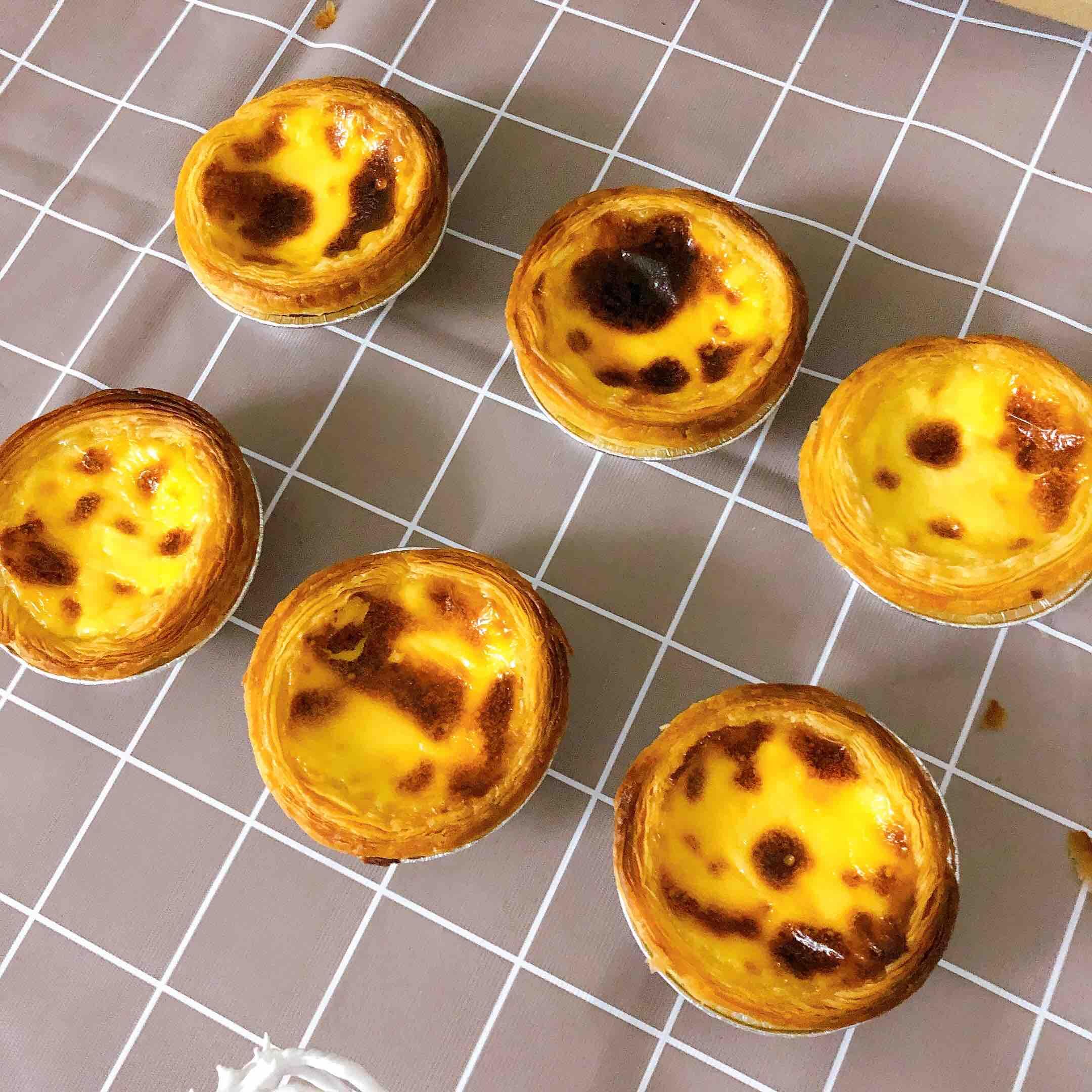 葡式蛋挞的简单做法