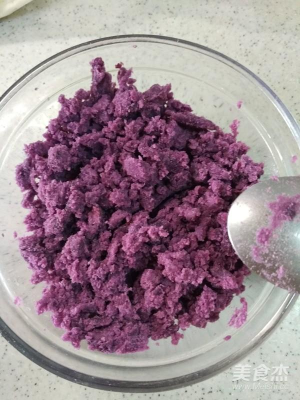 芝士紫薯蛋挞的做法大全