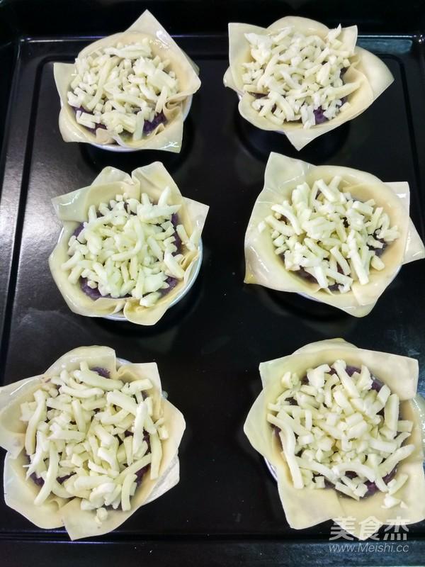 芝士紫薯蛋挞怎么做