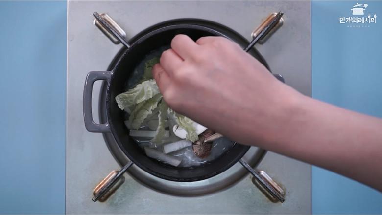 蘑菇石锅饭的家常做法