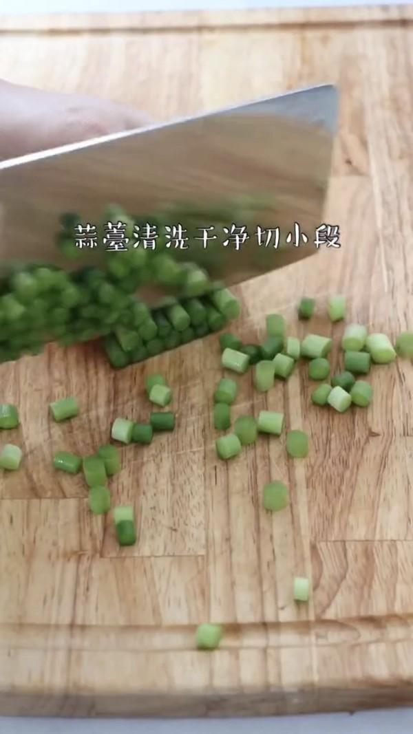 蒜苔炒肉末的做法图解