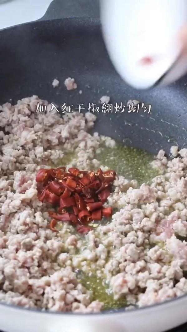 蒜苔炒肉末的家常做法