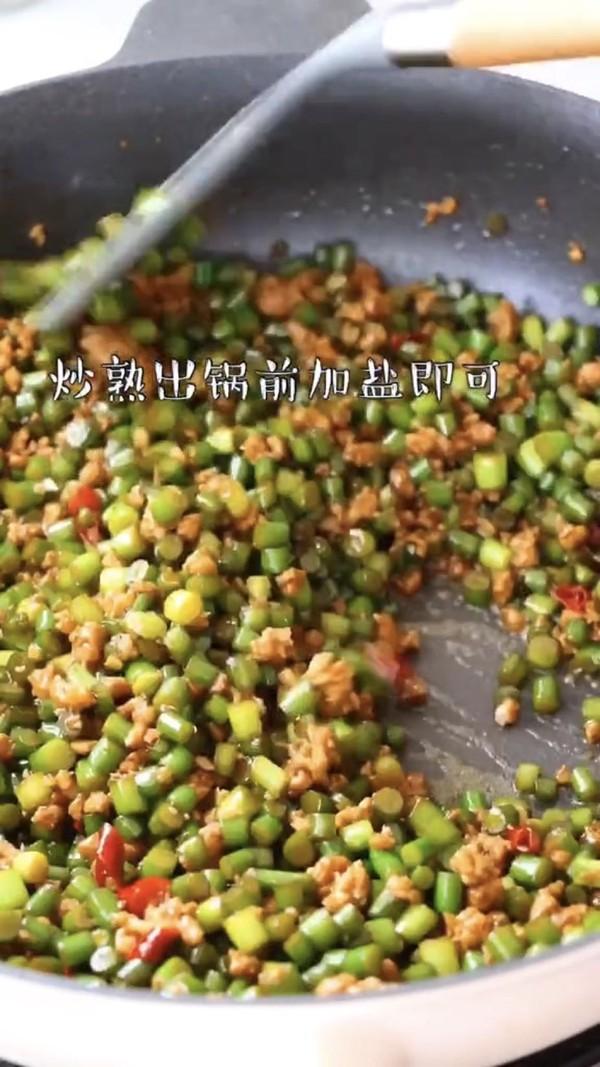 蒜苔炒肉末怎么吃