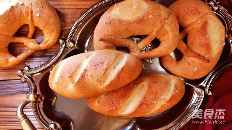 德国碱水面包怎样煸