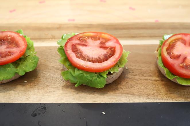 黑米猪扒汉堡怎样煮