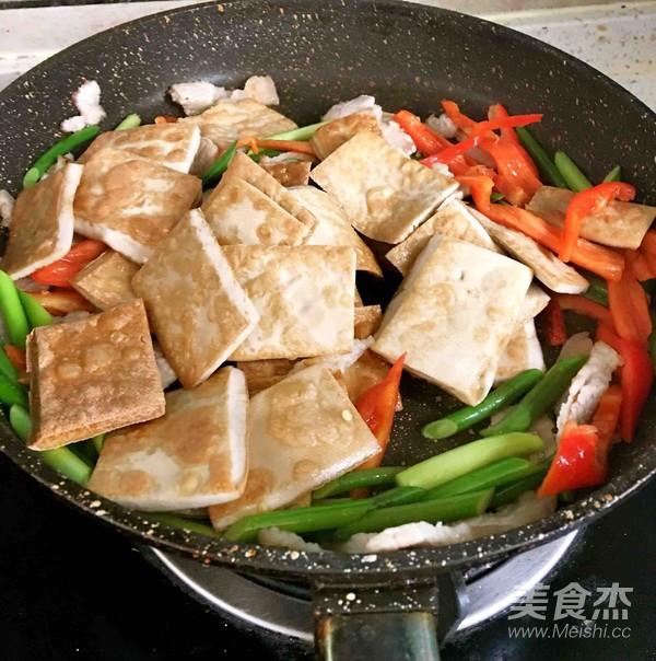 酱香白豆腐干怎么炒