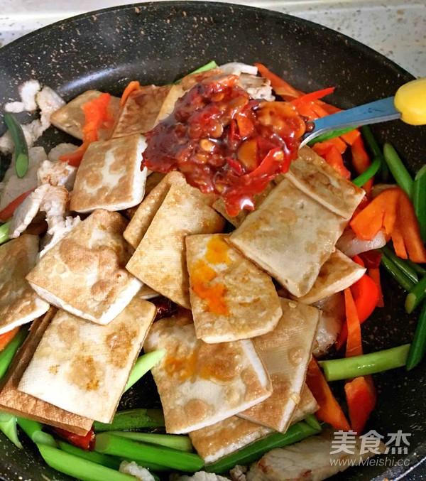 酱香白豆腐干怎么炖