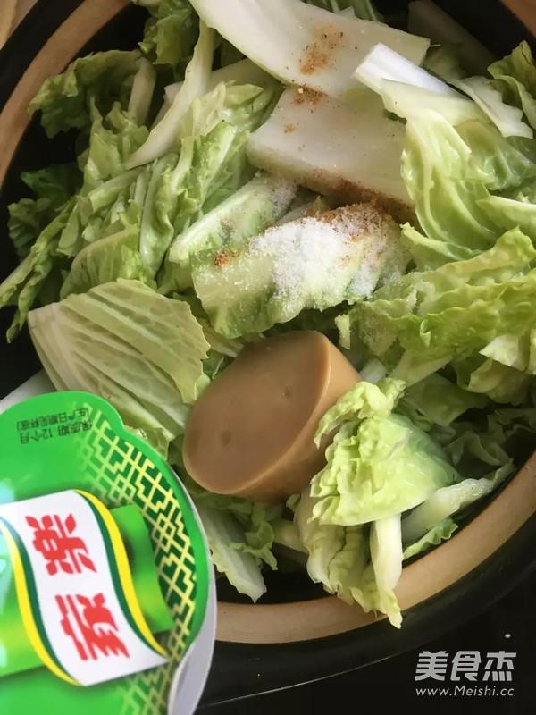 猪肉炖白菜干豆腐怎么煮