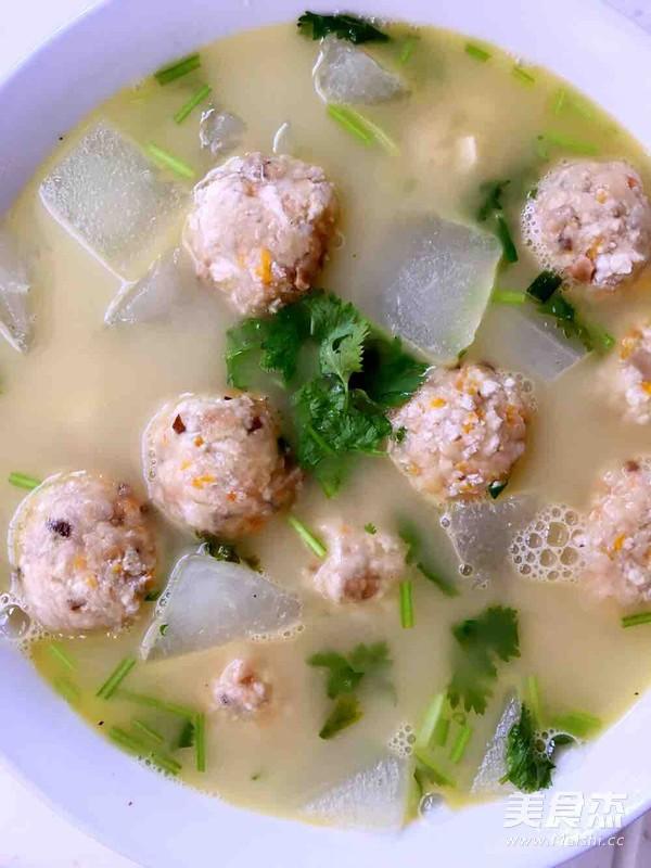 冬瓜豆腐丸子汤怎样做