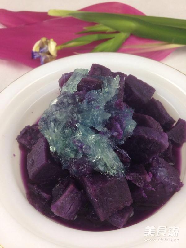 紫薯炖燕窝怎么做