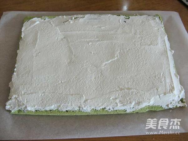 抹茶奶油蛋糕卷的制作大全