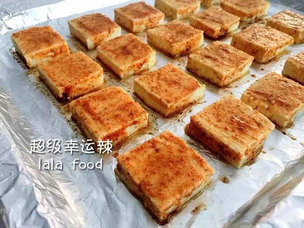 孜然香烤豆腐的简单做法