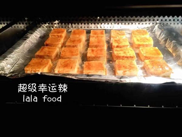 孜然香烤豆腐怎么做