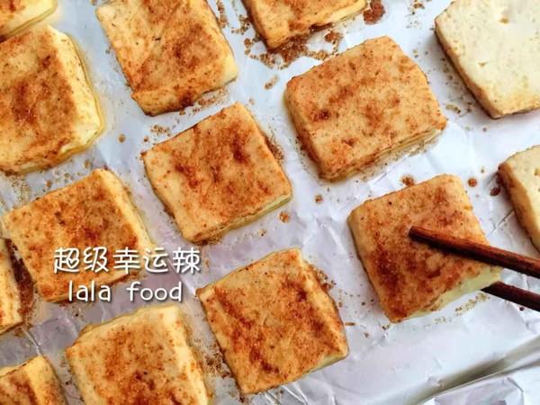 孜然香烤豆腐怎么炒