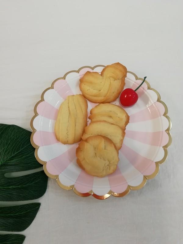 淡奶油版曲奇饼干成品图