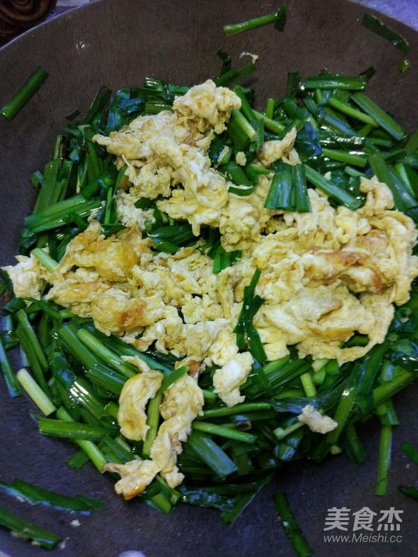韭菜炒鸡蛋怎么炒