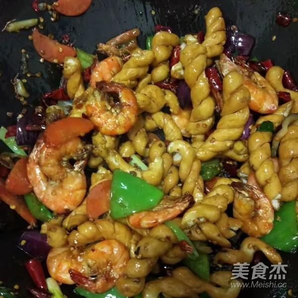 香辣麻花虾怎样煮