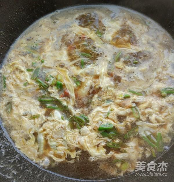 芸豆鸡蛋汤卤面怎么做