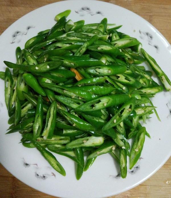 杭椒炒腊肉的家常做法