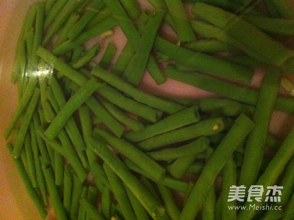 干炒豇豆的家常做法