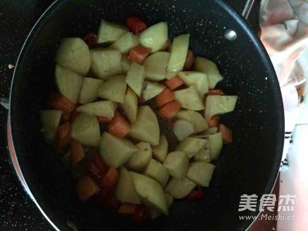 土豆萝卜炖鸭肉怎么炖
