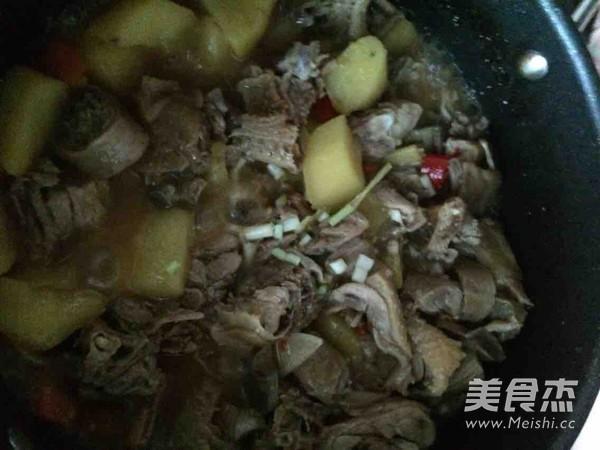 土豆萝卜炖鸭肉怎样煸