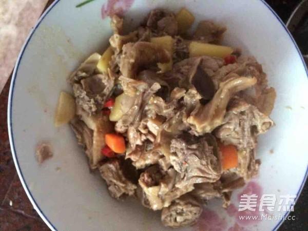 土豆萝卜炖鸭肉怎样做