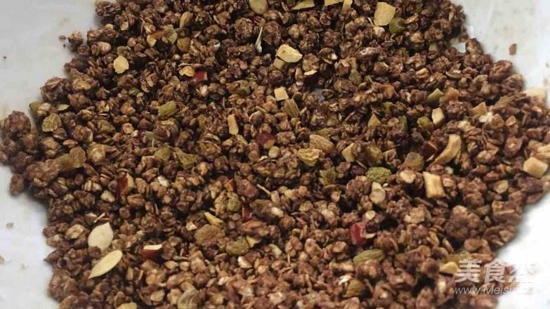 家庭脆烤巧克力燕麦的家常做法