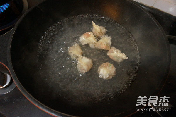 鲜虾云吞怎么煮