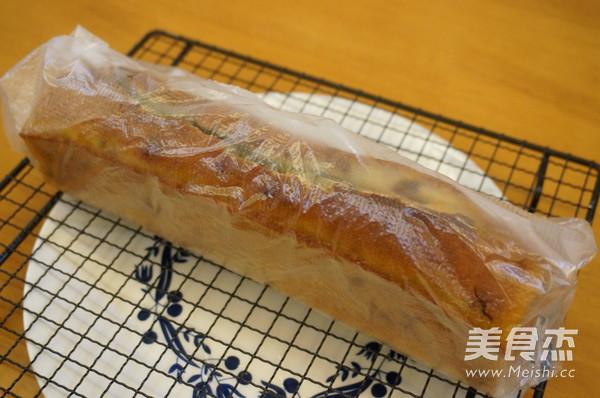 琥珀核桃香蕉磅蛋糕的制作方法