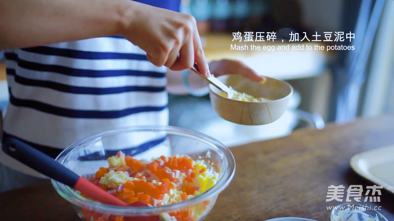 日式土豆沙拉怎么煸