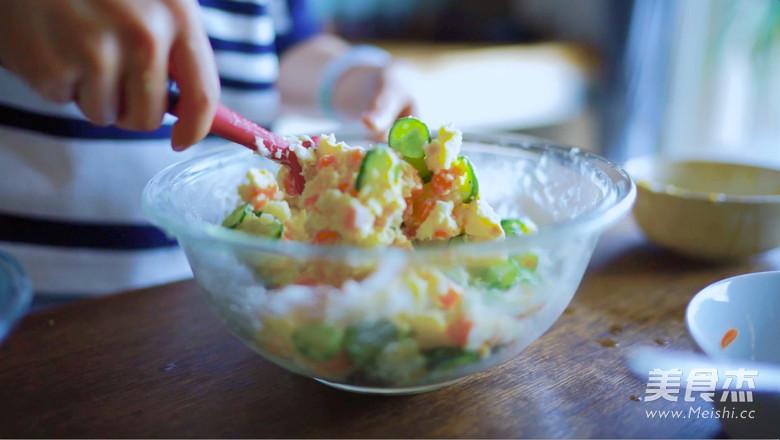 日式土豆沙拉怎样做