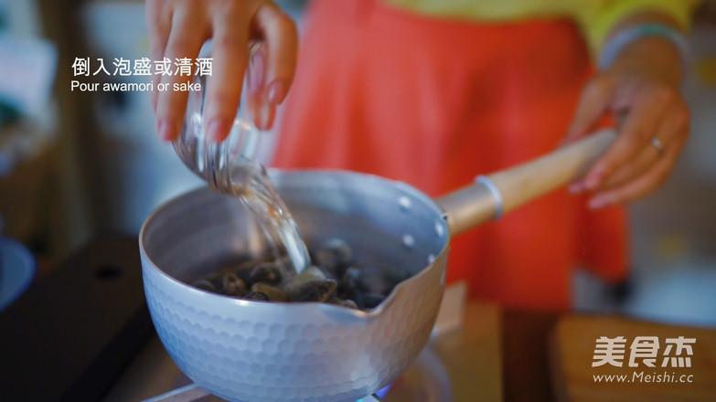 酒蒸蛤蜊与泡盛怎么吃