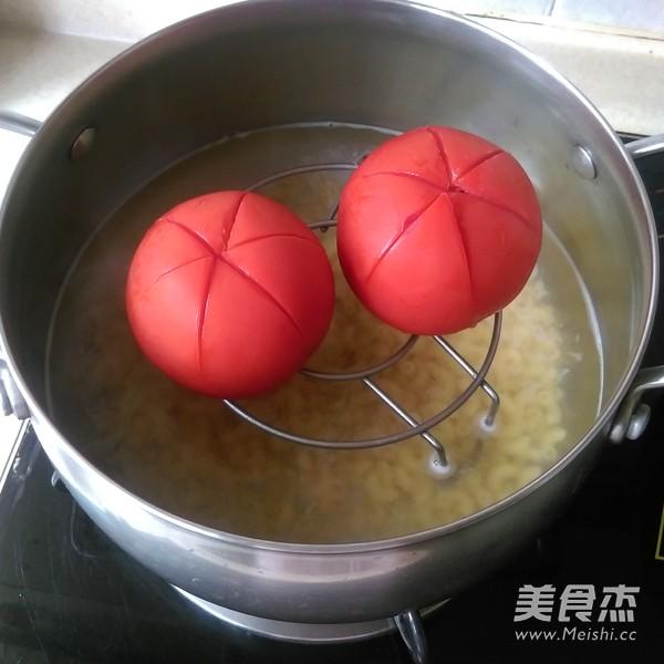 芝士番茄肉酱通心粉的家常做法