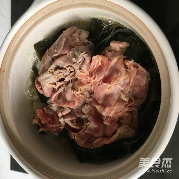 昆布牛肉锅的步骤