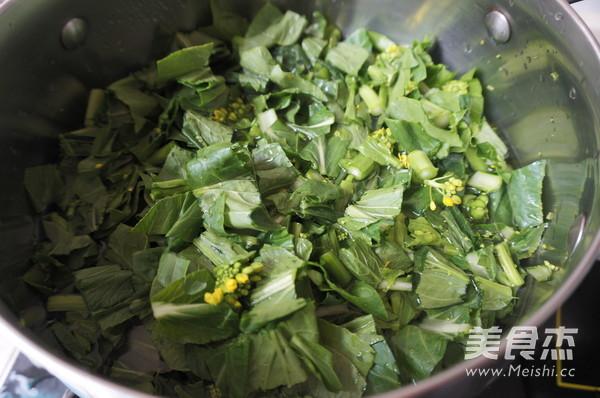 海虾青菜汤的家常做法