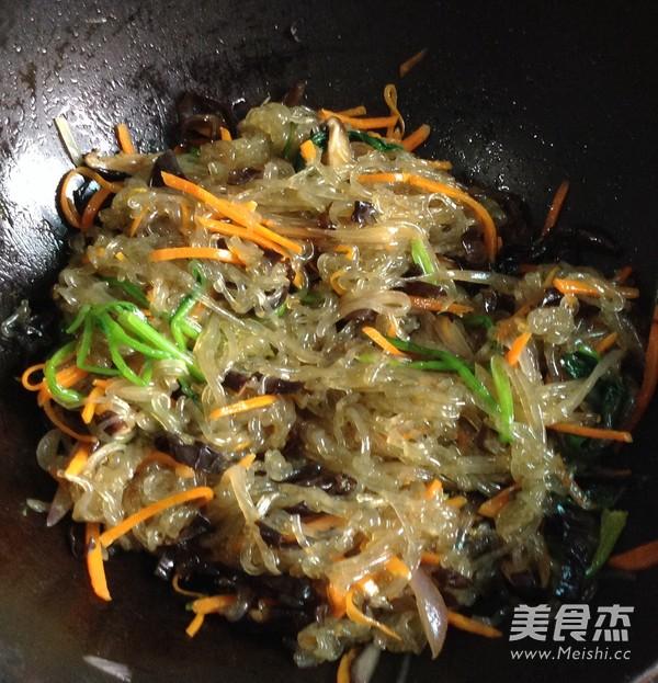 韩式凉拌杂菜怎么煸