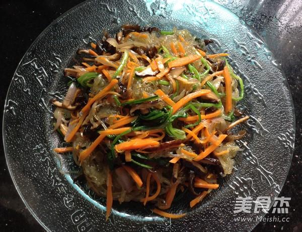 韩式凉拌杂菜怎样煸